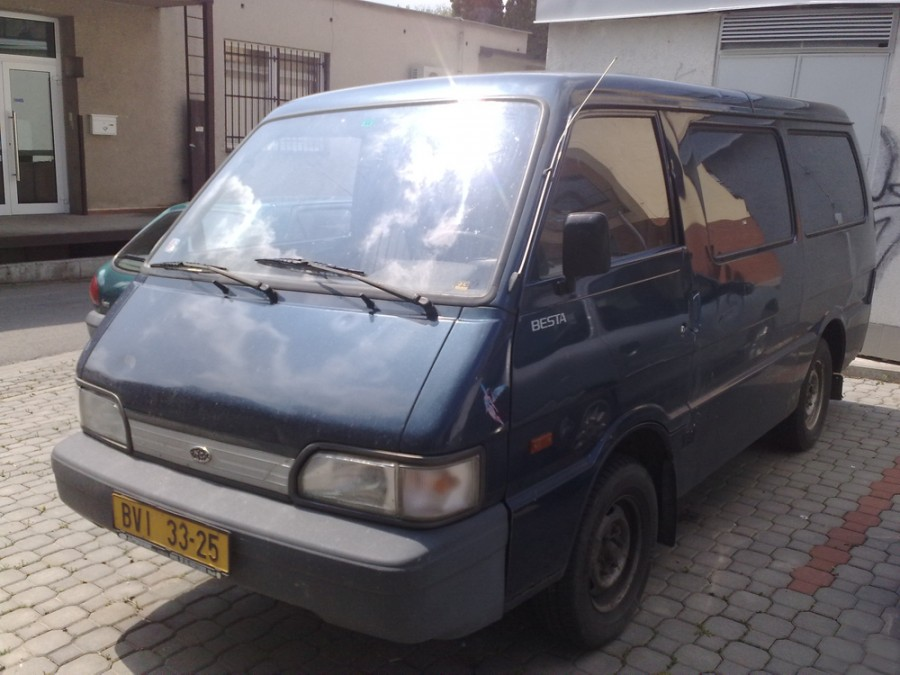 Kia Besta Трехместный фургон 4-дв., 1989–1996, 1 поколение [рестайлинг] - отзывы, фото и характеристики на Car.ru