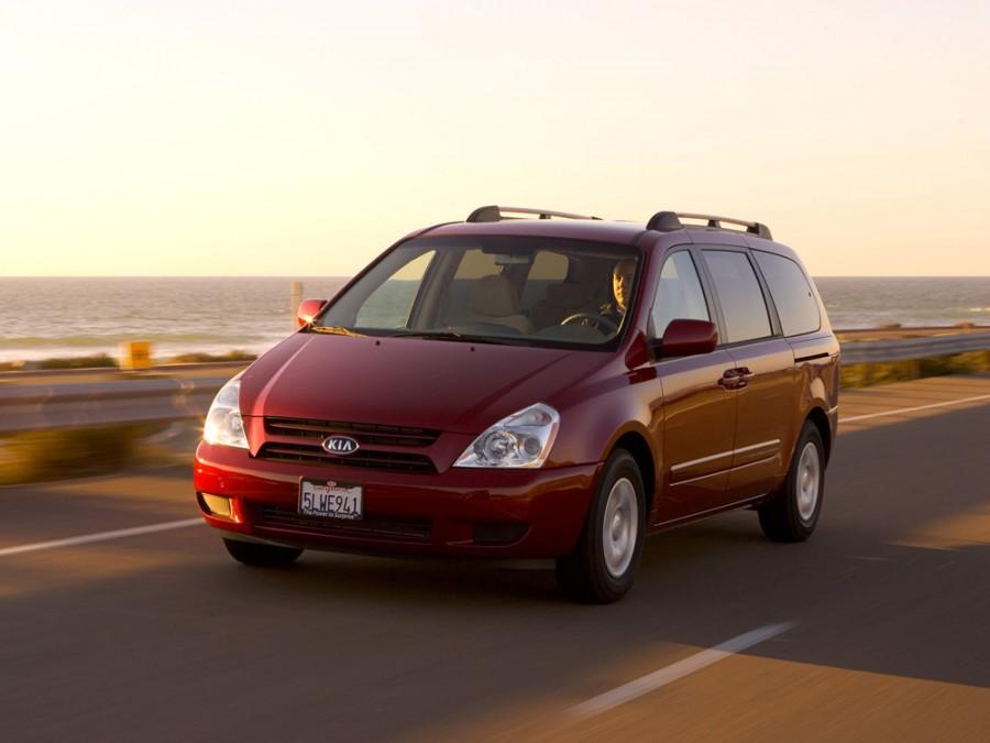 Kia Carnival Grand минивэн 5-дв., 2006–2010, 2 поколение - отзывы, фото и характеристики на Car.ru