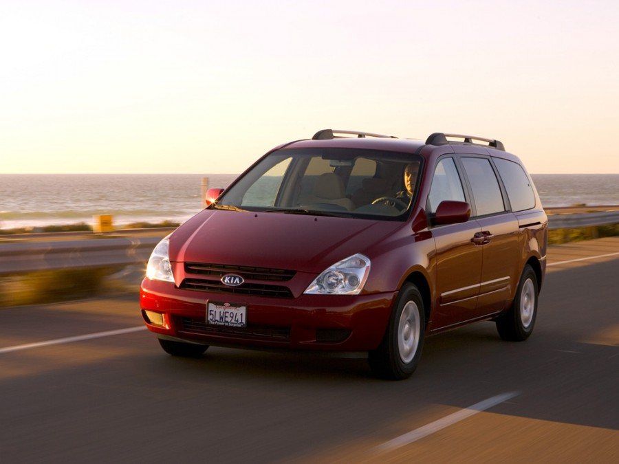 Kia Sedona LWB минивэн 5-дв., 2006–2010, 2 поколение - отзывы, фото и характеристики на Car.ru