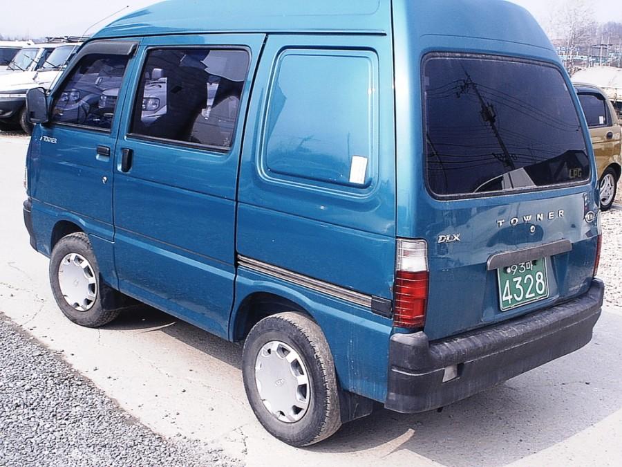 Kia Towner пятиместный фургон 5-дв., 1999–2002, 1 поколение - отзывы, фото и характеристики на Car.ru