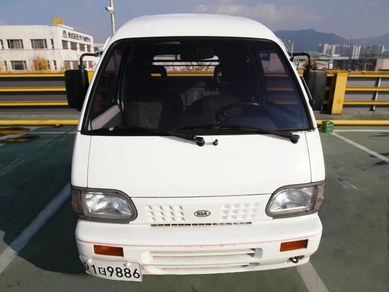 Kia Towner двухместный фургон 5-дв., 1999–2002, 1 поколение - отзывы, фото и характеристики на Car.ru