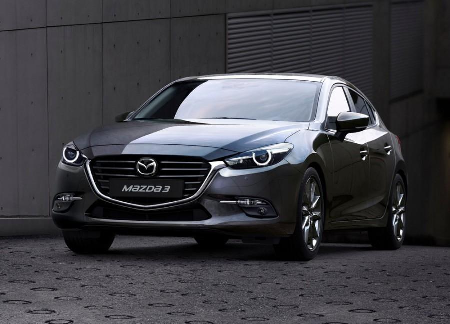 Mazda 3 седан, 2016–2016, BM [рестайлинг] - отзывы, фото и характеристики на Car.ru