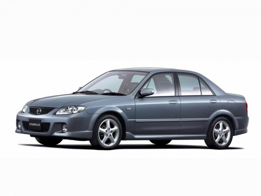 Mazda Familia седан, 2000–2003, 9 поколение [рестайлинг] - отзывы, фото и характеристики на Car.ru