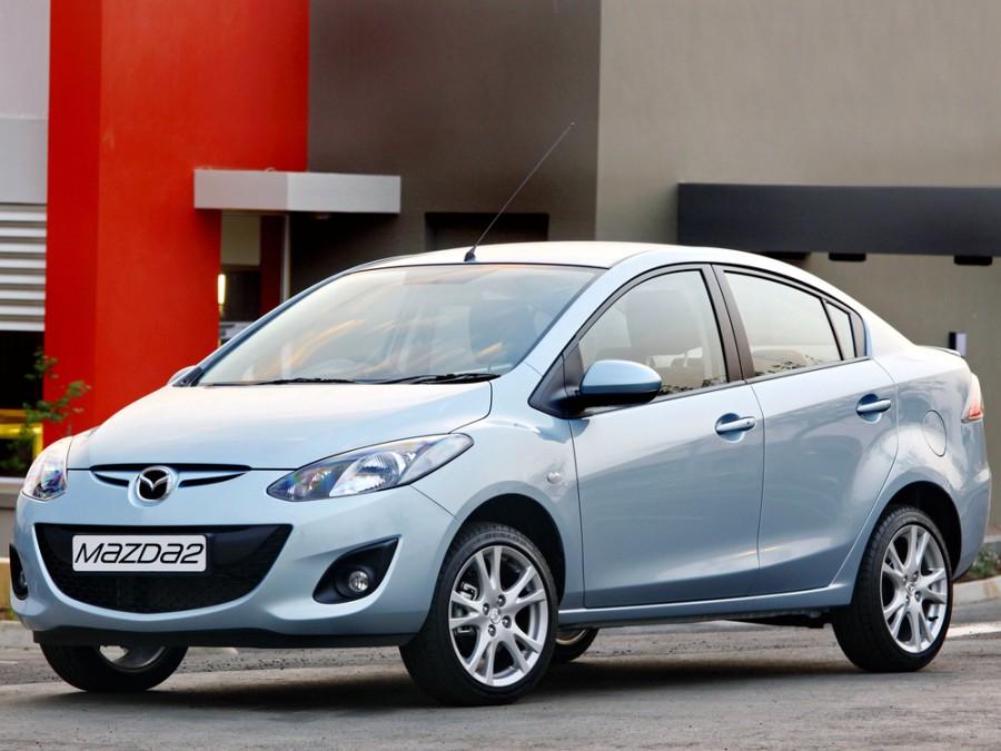 Mazda 2 AU-Spec. седан 4-дв., 2010–2016, 2 поколение [рестайлинг] - отзывы, фото и характеристики на Car.ru
