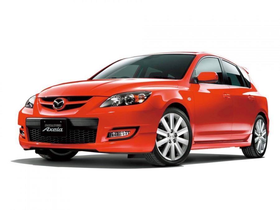 Mazda Axela Mazdaspeed хетчбэк 5-дв., 2003–2009, 1 поколение - отзывы, фото и характеристики на Car.ru