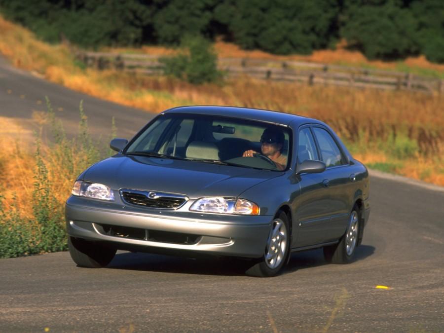 Mazda 626 US-Spec. седан 4-дв., 1997–1999, GF - отзывы, фото и характеристики на Car.ru