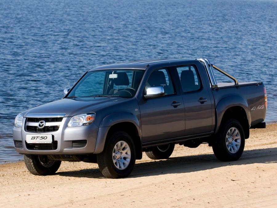 Mazda BT-50 Double Cab пикап 4-дв., 2006–2008, 1 поколение - отзывы, фото и характеристики на Car.ru