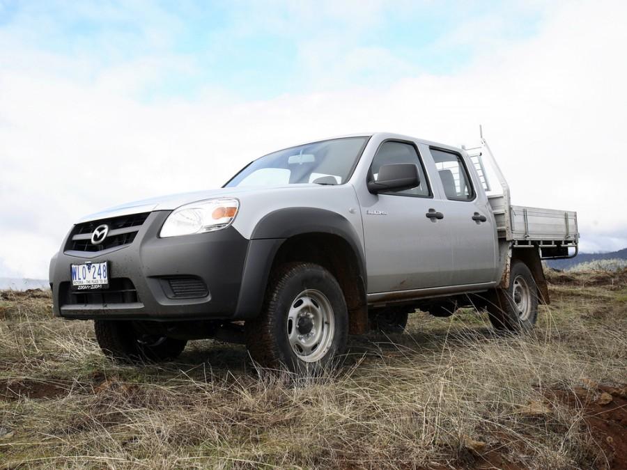 Mazda BT-50 Double Cab шасси 4-дв., 2008–2011, 1 поколение [рестайлинг] - отзывы, фото и характеристики на Car.ru
