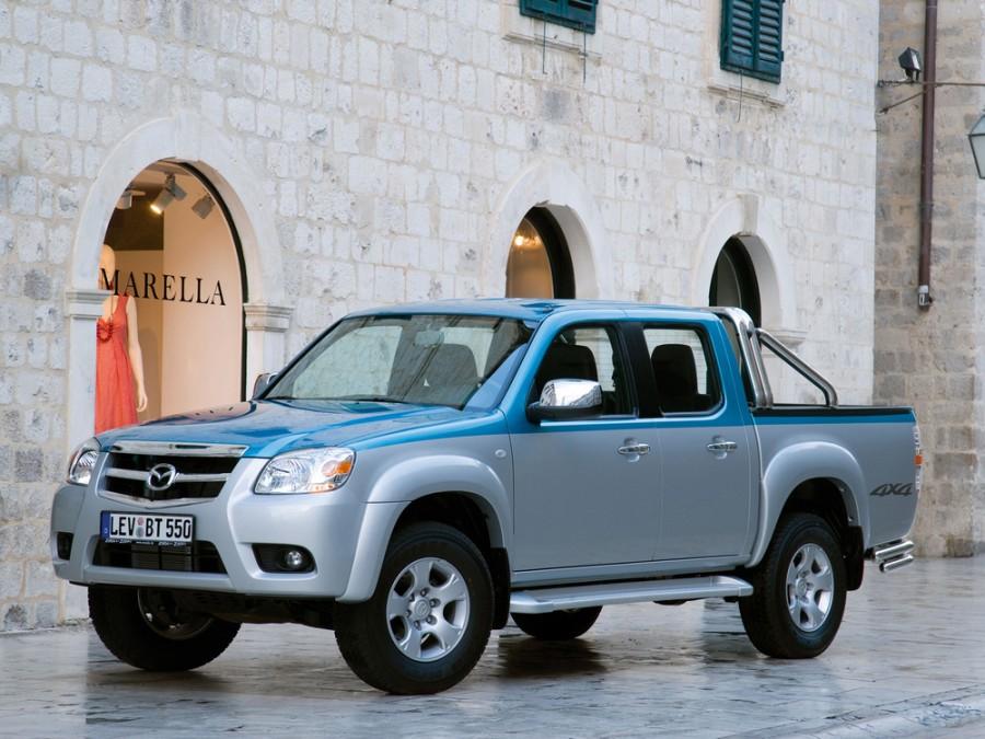 Mazda BT-50 Double Cab пикап 4-дв., 2008–2011, 1 поколение [рестайлинг] - отзывы, фото и характеристики на Car.ru