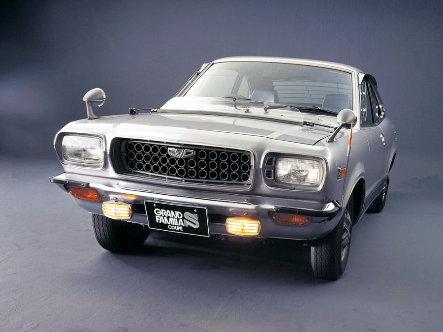 Mazda Familia Grand купе 2-дв., 3 поколение - отзывы, фото и характеристики на Car.ru