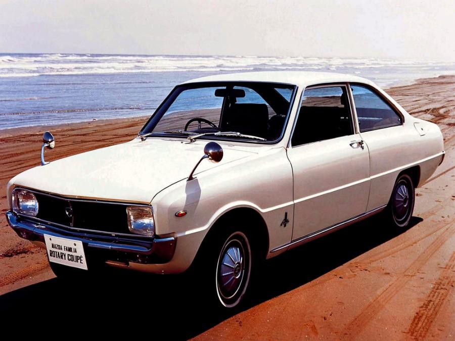 Mazda Familia Rotary купе 2-дв., 2 поколение - отзывы, фото и характеристики на Car.ru