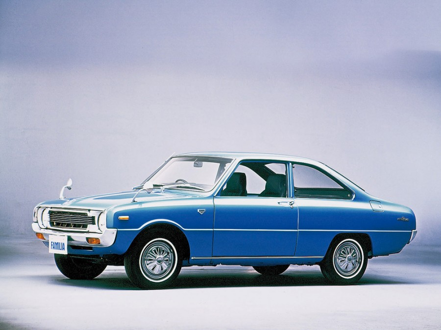 Mazda Familia Presto купе 2-дв., 3 поколение - отзывы, фото и характеристики на Car.ru