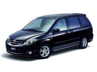 Mazda MPV, 2 поколение [рестайлинг], Jp-spec минивэн 5-дв., 2003–2006