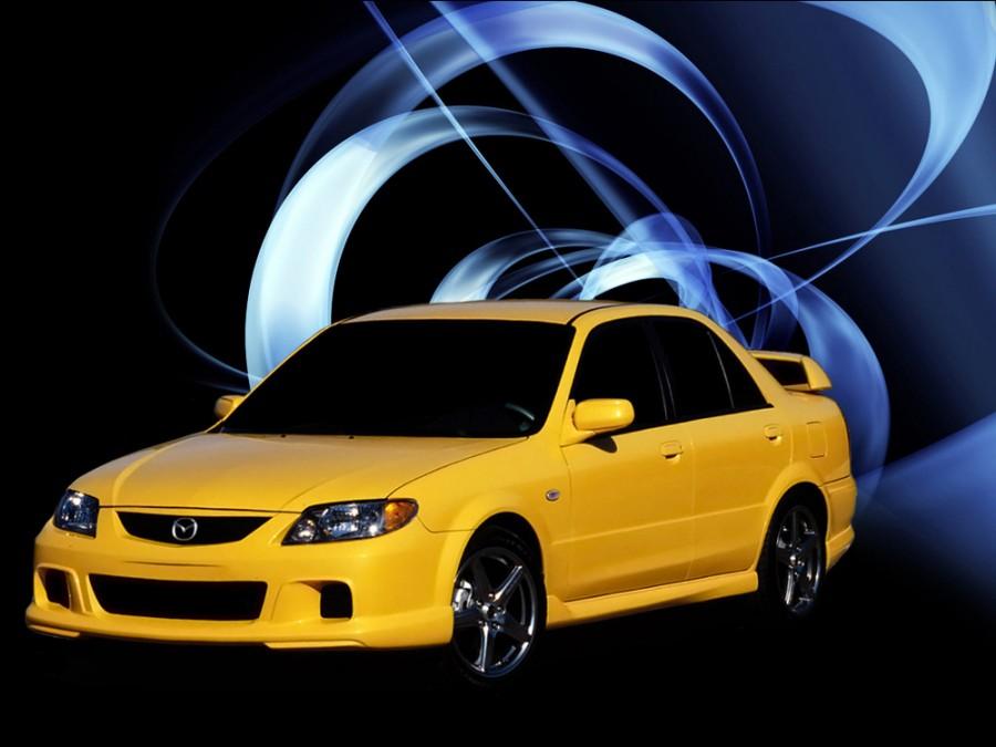 Mazda Protege Mazdaspeed седан 4-дв., 2000–2003, BJ [рестайлинг] - отзывы, фото и характеристики на Car.ru