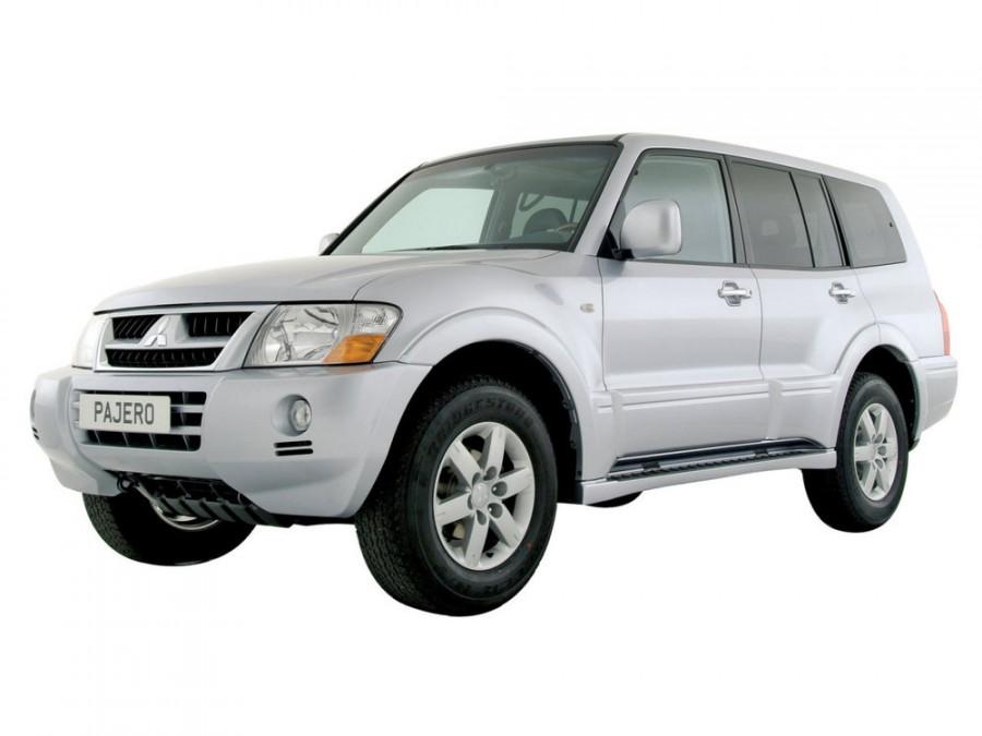 Mitsubishi Pajero внедорожник 5-дв., 2003–2006, 3 поколение [рестайлинг] - отзывы, фото и характеристики на Car.ru