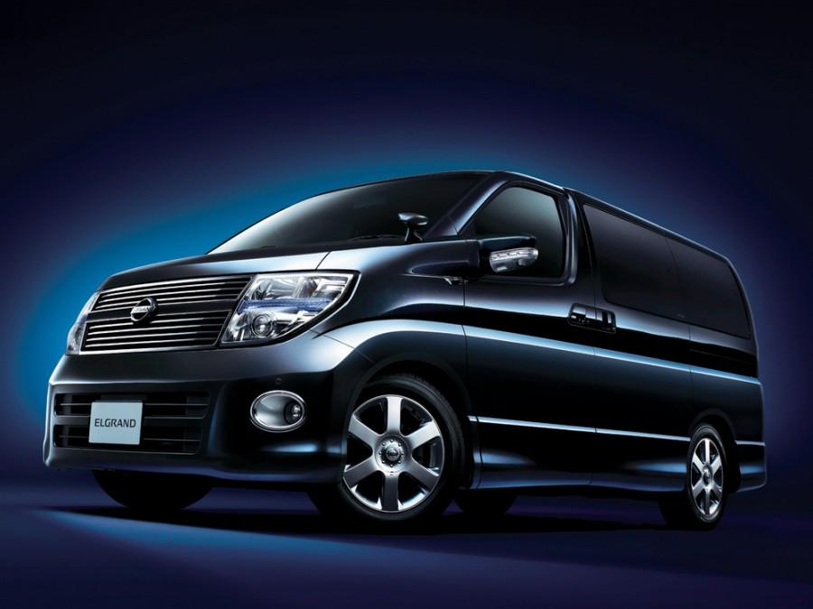 Nissan Elgrand MNE51 минивэн 5-дв., 2002–2010, E51 - отзывы, фото и характеристики на Car.ru