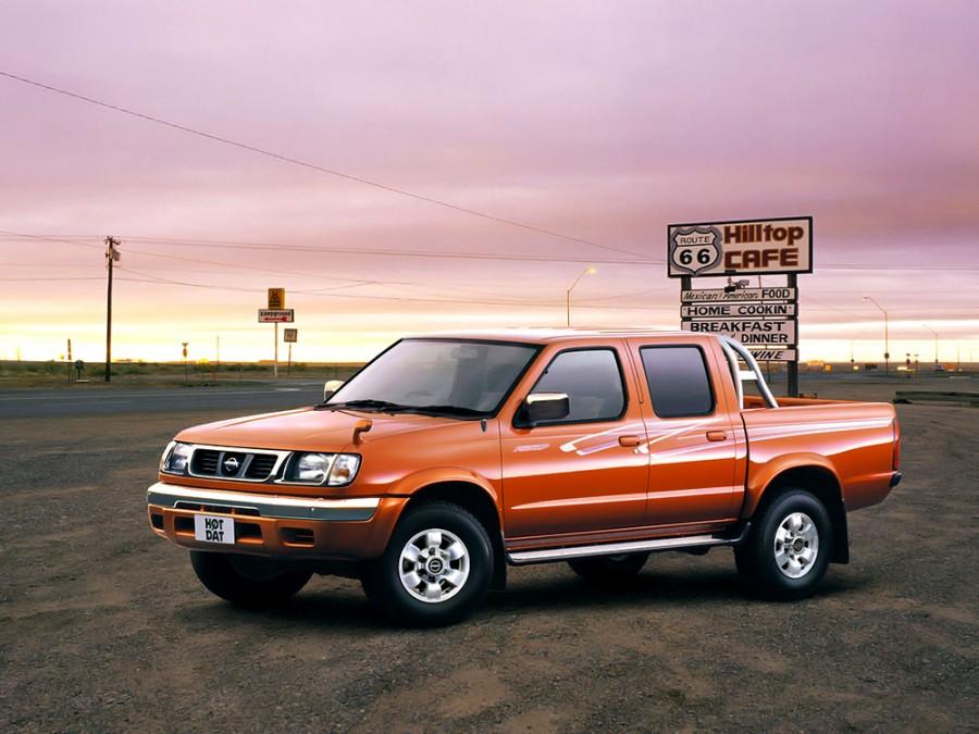 Nissan Datsun Crew Cab пикап 4-дв., 1997–2002, D22 - отзывы, фото и характеристики на Car.ru