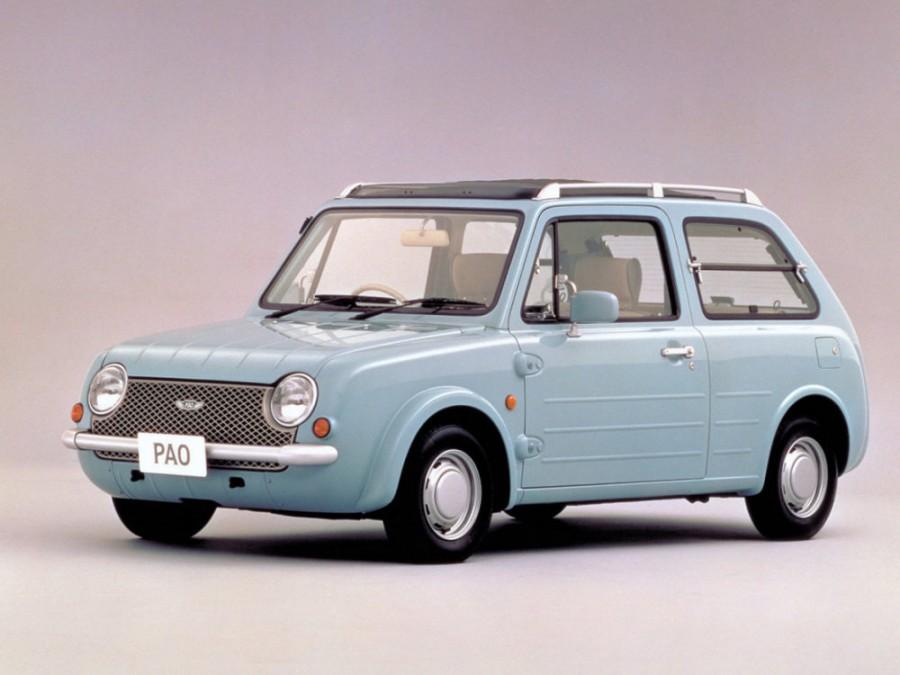 Nissan Pao Canvas top хетчбэк 3-дв., 1989–1990, 1 поколение - отзывы, фото и характеристики на Car.ru