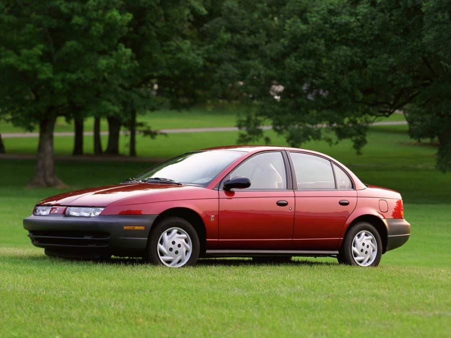 Saturn S-Series SL седан, 1995–2003, 2 поколение - отзывы, фото и характеристики на Car.ru