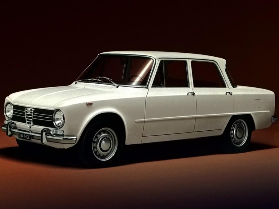 AlfaRomeo Giulia седан, 1962–1977, 105 - отзывы, фото и характеристики на Car.ru