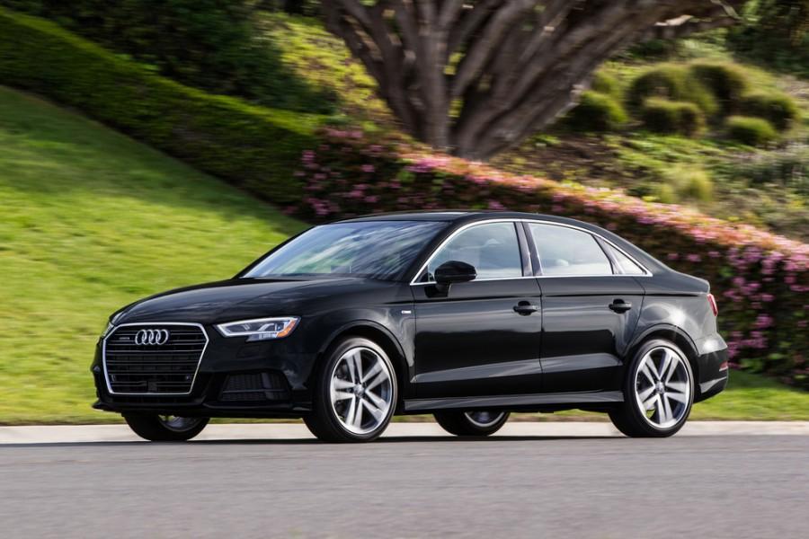 Audi A3 седан, 2016–2018, 8V [рестайлинг], 1.4 TFSI S-tronic (150 л.с.), Базовая, характеристики