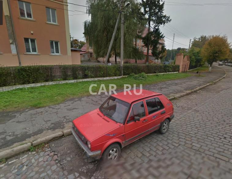 Volkswagen Golf, Багратионовск