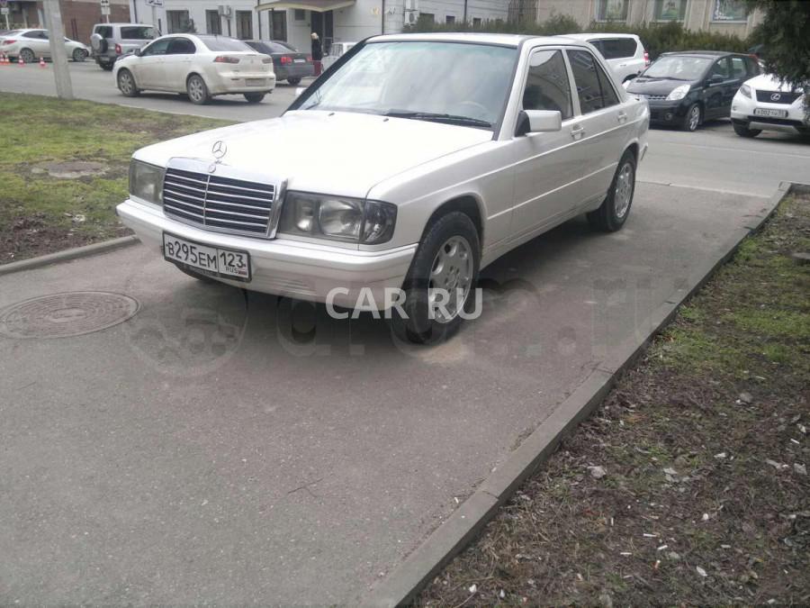 Mercedes 190, Анапа
