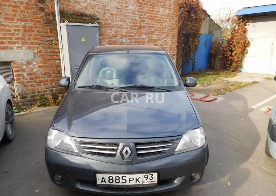 Renault Logan, Анапа