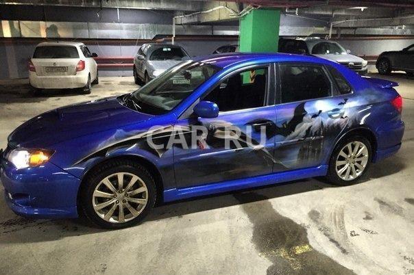 Subaru WRX, Архангельск