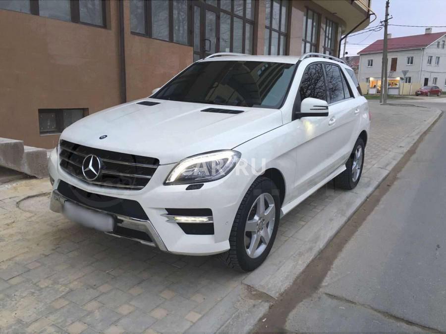 Mercedes M-Class, Анапа