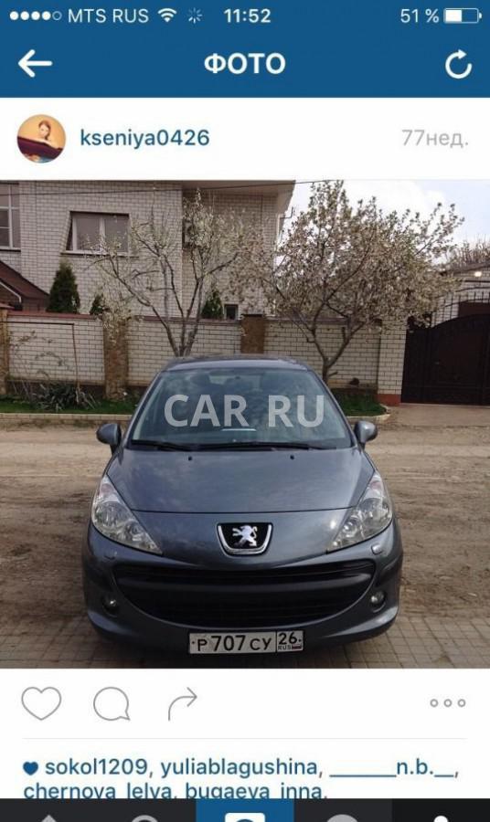 Peugeot 207, Анапа