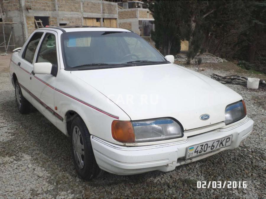 Ford Sierra, Алушта
