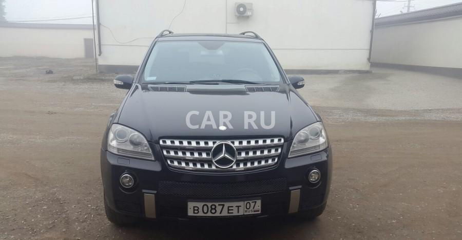 Mercedes M-Class, Баксан