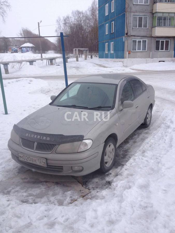 Nissan Bluebird Sylphy, Ачинск