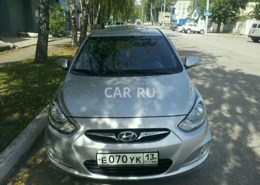 Hyundai Solaris, Атяшево