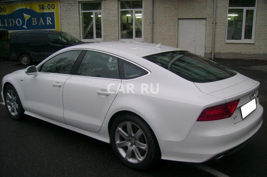 Audi A7, Анапа