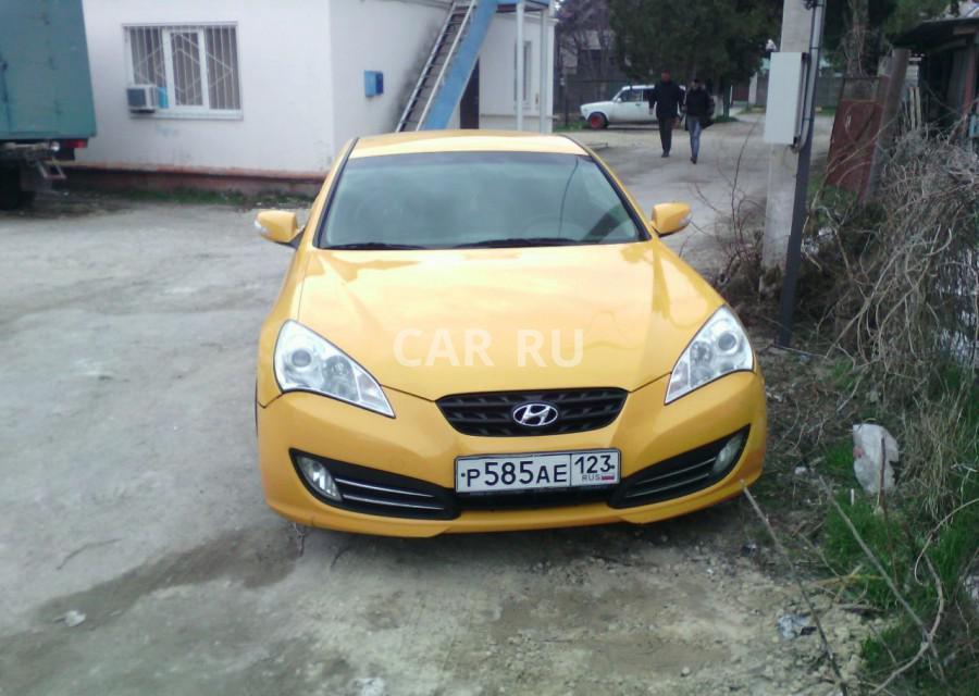Hyundai Genesis, Анапа