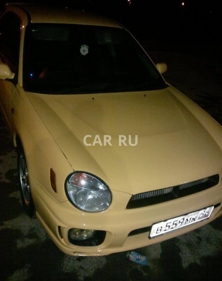 Subaru Impreza, Артёмовский