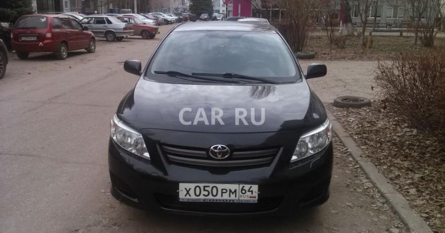 Toyota Corolla, Балаково