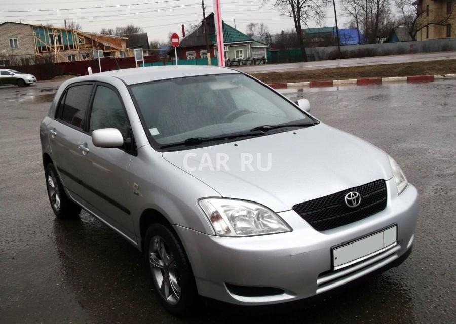 Toyota Corolla, Александров