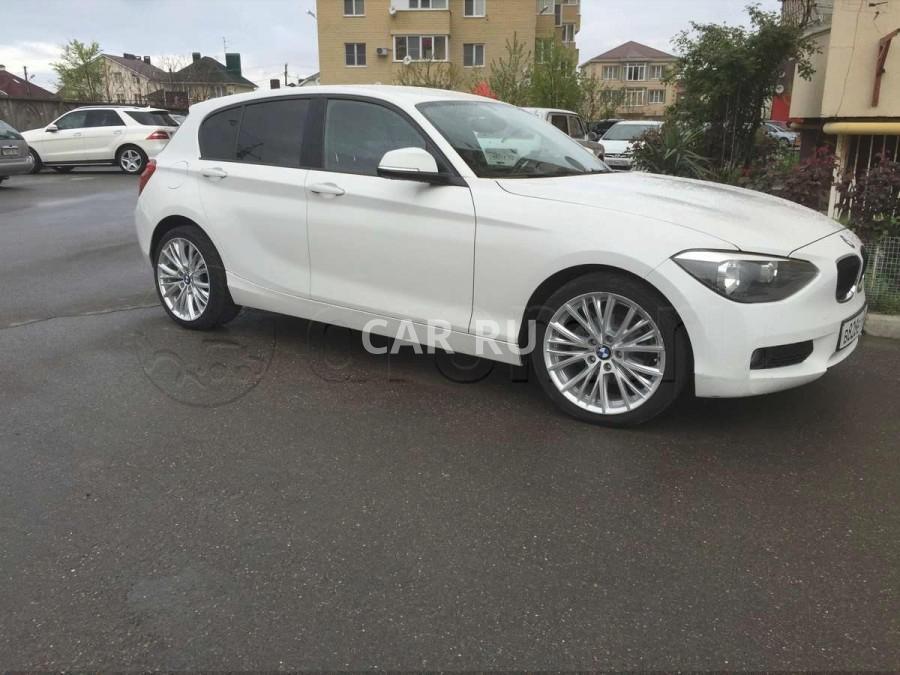BMW 1-series, Анапа