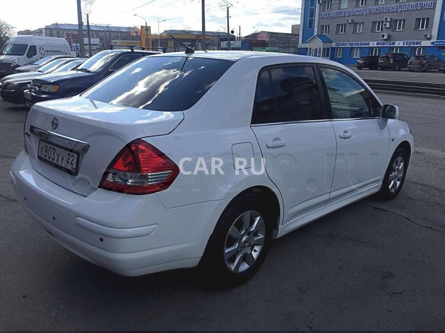 Nissan Tiida, Барнаул