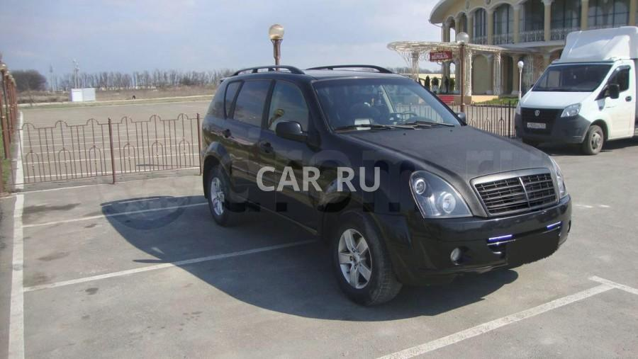 Ssang Yong Rexton, Анапа