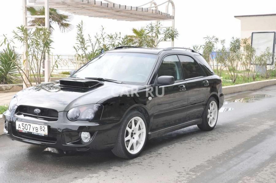Subaru Impreza, Алушта