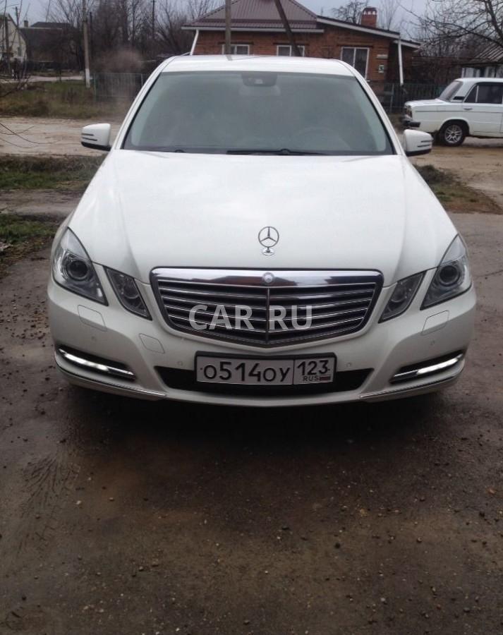 Mercedes E-Class, Абинск