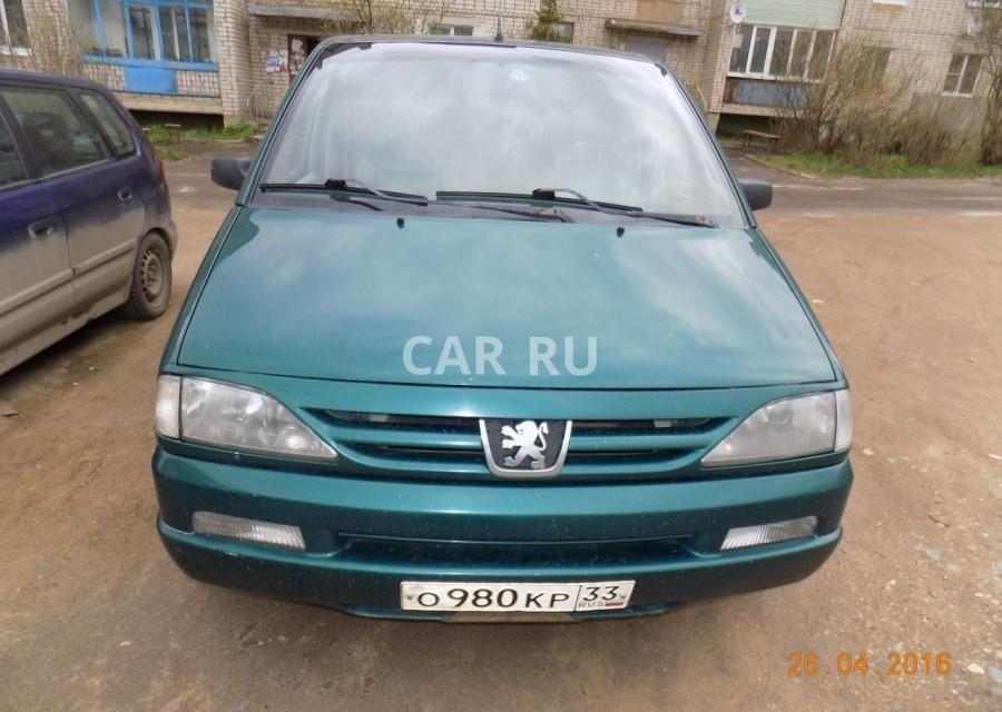 Peugeot 806, Александров