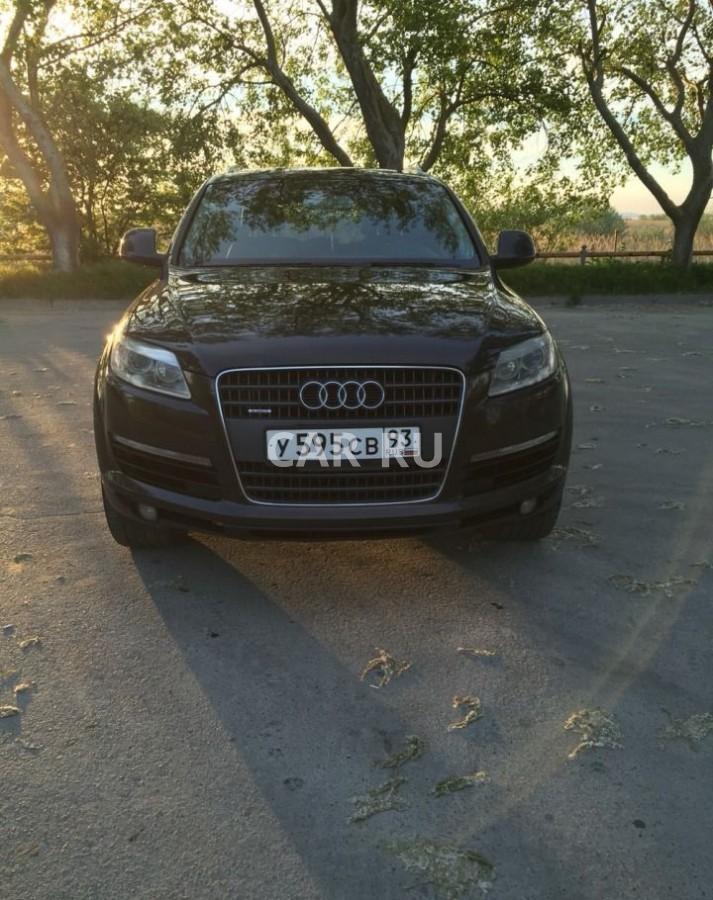 Audi Q7, Анапа
