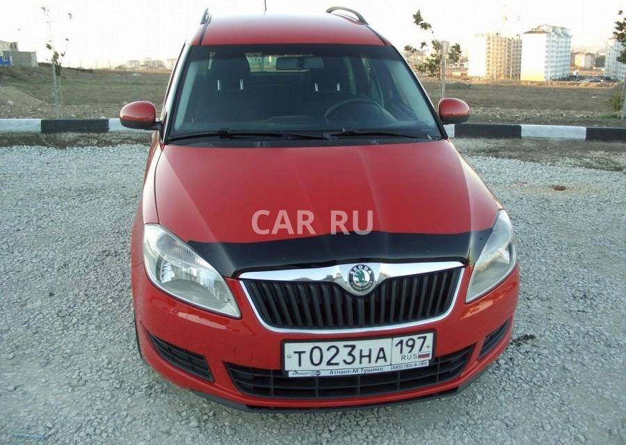 Skoda Roomster, Анапа