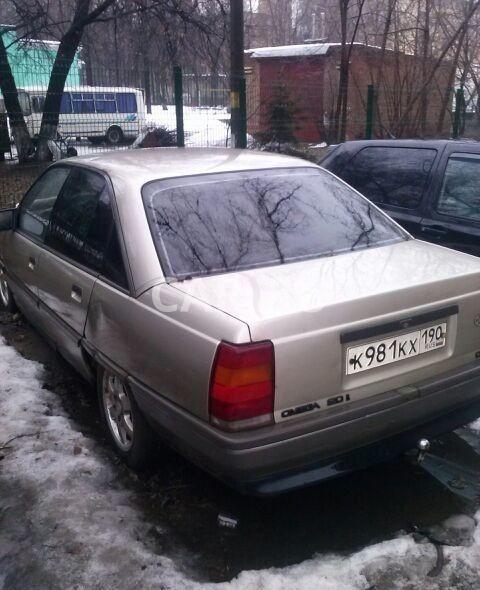 Opel Omega, Балашиха