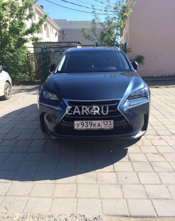 Lexus NX, Абинск